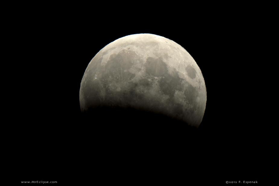 2012 partial lunar eclipse magnitude 0 292