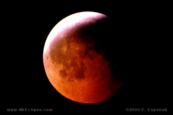 1992 Total Lunar Eclipse