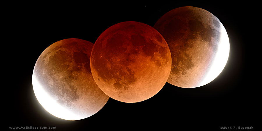 Total Eclipse Of The Moon April 4 2015