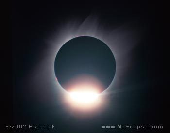 1991 Jul 11 Total Solar Eclipse