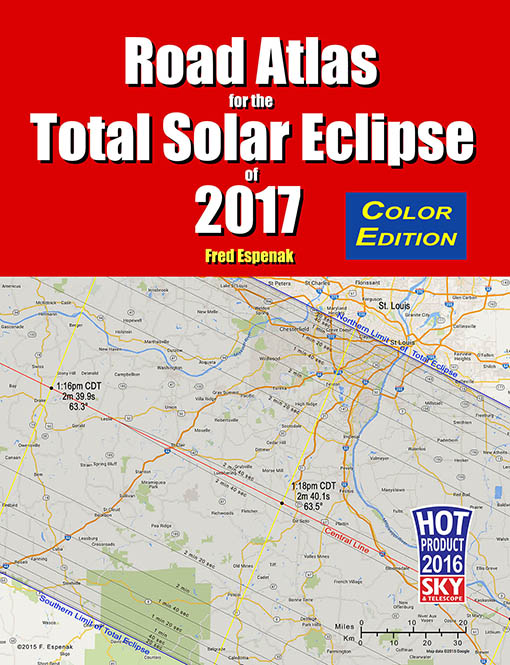 Atlas Of Central Solar Eclipses In The Usa