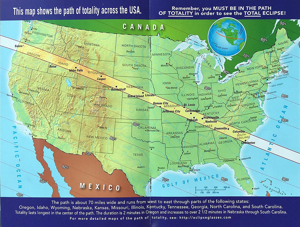 2017 Eclipse Usa Map.Get Eclipsed The Complete Guide To The American Eclipse