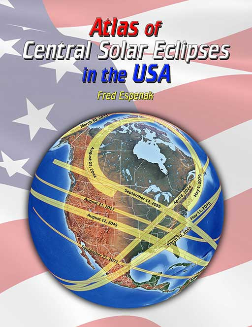 Road Atlas For The Total Solar Eclipse Of 2024